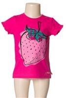 Deux par Deux T-shirt Strawberry Field Fushia