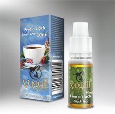Liquids Vogell - Five o'clock - Smak angielskiej herbaty - http://vogell.pl/#!/page_Vogell