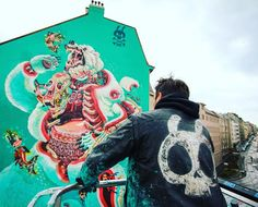 lagiungladigiulia: NYCHOS is not only street artist! He founded a...