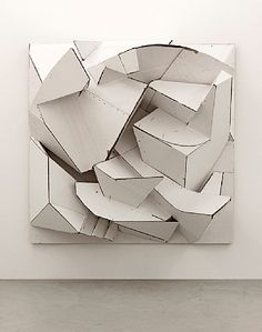 FLORIAN BAUDREXEL, SIET 2012: cardboard with a wooden frame.