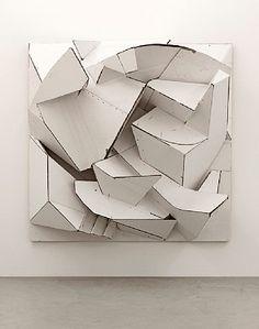 Florian Baudrexel, (German, b.1968), 2012, Sculptures, Cardboard, wooden frame / Karton, Holzrahmen.