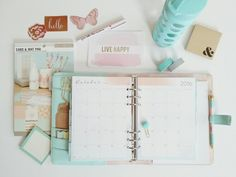Inkwell Press inserts plus kikki.K planner = ❤