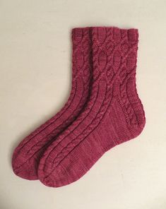Knitting Patterns Socks Ravelry: Cassidae pattern by Rachel Coopey Loom Knitting, Knitting Stitches, Knitting Socks, Hand Knitting, Crochet Socks, Knitted Slippers, Knit Or Crochet, Knit Socks, Ravelry