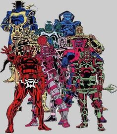The Eternals, Jack Kirby