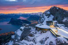 Dragon Mountain near Lucerne Switzerland #travel #daily #deal explore grabjab.com