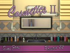 Cosmetics II clutter by Kresten 22 at Sims Fans via Sims 4 Updates