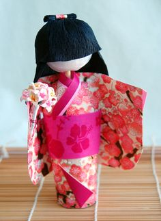 Washi ningyo doll *********