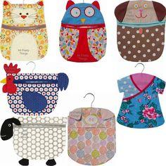 PEG BAG Cat Dog Owl Sheep Chicken Dress Pig ULSTER WEAVERS BNWT -Post Worldwide