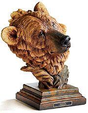 Timberline Brown Bear Sculpture by Stephen Herrero