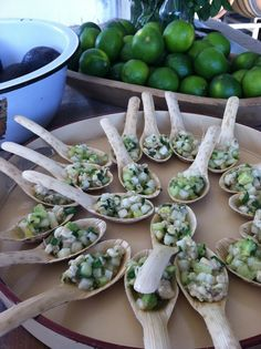 Ceviche Spoons