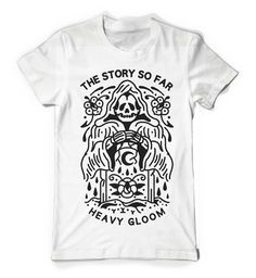 Heavy Gloom Reaper White : TSSF : MerchNOW - Your Favorite Band Merch, Music and More