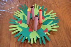11 Best Kids Advent Wreath Crafts Images Wreath Crafts