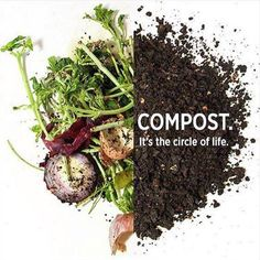 Compost... it's the circle of life.