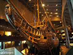 To see the Vasa Ship Museum in Stockholm, Sweden. Vasa Museum, Vasa Ship, Long Weekend Breaks, Quick Weekend Getaways, Museum Island, Photo Caption, Stockholm Sweden, Traveling With Baby, 17th Century