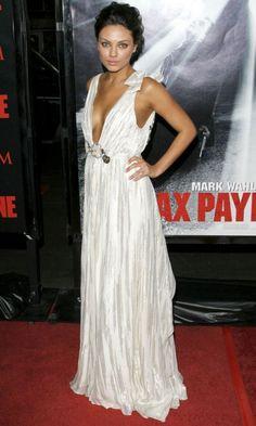 Mila Kunis At The 'Max Payne' Film Premiere, 2008