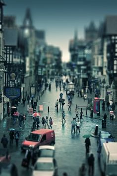 miniature chester by rustmouth d3hh9jv 20 Beautiful Examples of Tilt Shift Photography | Part 2