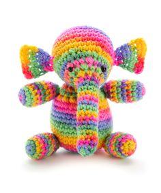 Colorful Elephant - free pattern (: