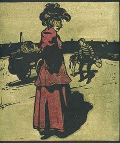 NICHOLSON, WILLIAM (1872-1949), 'COSTER (HAMMERSMITH)', 1898.