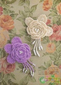 [服饰配件] 很漂亮的胸花有图解