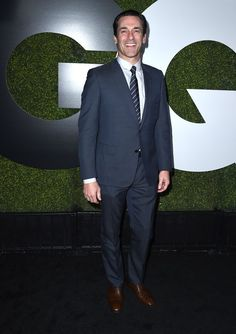 Pin for Later: Les Personnalités les Plus Sexy du Moment Se Sont Rendues à la Soirée GQ Men of the Year Jon Hamm