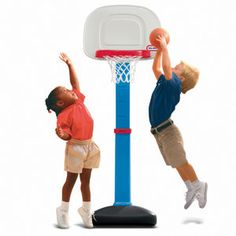 one of my son's favorite sport lately. He also uses the net for his spiderman & batman toy figures.