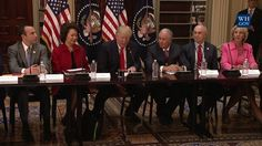 President Trump Leads a Strategic and Policy CEO Discussion