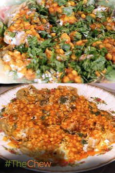 Cook a traditional Afghan meal with this delicious Mantu with Tomato-Chana Dal Sauce recipe! The Chew Recipes, Indian Food Recipes, Asian Recipes, Ethnic Recipes, Arabic Recipes, Afghan Food Recipes, Afghan Recipe, Afghanistan Food, Cultures Du Monde