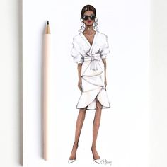 Style of Brush by Gizem Kazancigil #fashionillustration gizem kazancigil (@gizemkazancigil)