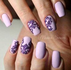purple nails, Natural short square nails design for summer nails, acrylic square nails short, square Purple Manicure, Purple Nail Art, Purple Nail Designs, Manicure E Pedicure, Nail Art Designs, Nails Design, Ombre Nail, Manicure Ideas, Purple Glitter