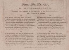 The Star-Spangled Banner -  Engraved Music and Text on Three Plates - Published by G.E. Blacke, n.d. - To be sold at Brunk Auctions on November 7, 2015