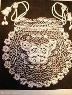 crochet wedding purse patterns   Free Crochet Patterns Irish Crochet pictures