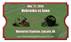 Nebraska Cornhuskers vs Iowa Hawkeyes Football Tickets   Nov. 27, 2015