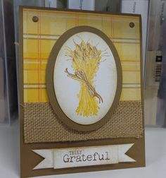 Stampin' Up- 2013 Holiday Catalog- 'Truly Grateful'