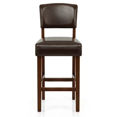 Sydney Walnut Bar Stool Brown - Atlantic Shopping