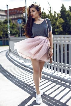 Girly Outfits, Photo Sessions, Flannel, My Photos, Tulle, Silhouette, Stylish, My Style, Womens Fashion