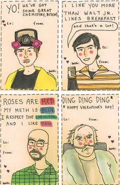 I like you more than Walt Jr. likes breakfast. Breaking Bad valentines