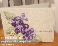 Stampin Up UK Demonstrator Simplyfairies: A Collection of Creations Old and New