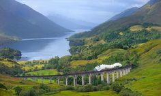 Road to the Isles Glenfinnan, Scottish Highlands,