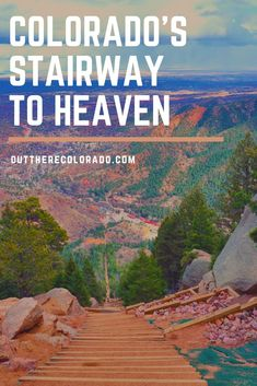 Colorado's Stairway to Heaven Perhaps one of the most talked about hiking trails in Colorado, the Manitou Incline attracts hikers, runners, and outdoor enthusiasts from around the entire Le Colorado, Road Trip To Colorado, Colorado Springs Things To Do, Castle Rock Colorado, Manitou Springs Colorado, Colorado Mountains, Rocky Mountains, Denver Travel, Travel Usa