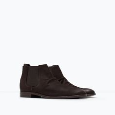 ZARA - NEW THIS WEEK - STRETCH LEATHER BOOT
