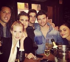 The Originals Cast: Claire Holt, Paul Weasley, Nathaniel Buzolic, Daniel Gillies and Phoebe Tonkin