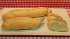 Receta fácil de pan canilla
