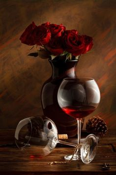 Photo molin rouge by Luiz Laercio on Still Life Photos, Still Life Art, Glass Photography, Still Life Photography, Double Exposition, Red Wine Glasses, Nice Glasses, Wine Art, In Vino Veritas