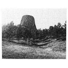 Devils Tower National Monument Puzzle