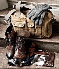 "Get ready for winter! (would it be lame if I tagged this ""Winter is Coming""?) Follow The Vintage Man: A Men's Lifestyle Blog"