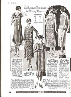 1920s fashion catalog