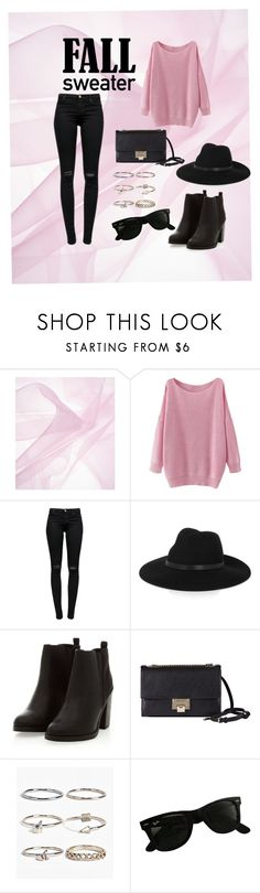 """""""Sweater weather"""" by lizrandomness ❤ liked on Polyvore featuring J Brand, By Malene Birger, Jimmy Choo, Boohoo and Ray-Ban"""