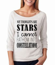 "This sweatshirt. | 31 Incredible Etsy Products For ""The Fault In Our Stars"" Fans"