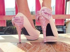 Pink and sparkles!