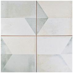 Merola Tile Geomento 17-5/8 in. x 17-5/8 in. Ceramic Floor and Wall Tile (11.1…